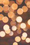 Verwischt von den Kerzen Lizenzfreies Stockfoto