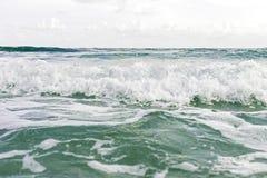 Verwischt von den Wellen beim Bewegen Stockfotografie