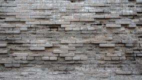 Verwitterte Backsteinmauer Lizenzfreie Stockbilder