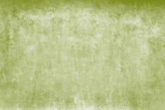 Verwitterte grobe Fassadenwand der grünen und weißen Aquarelle als leerer rustikaler Hintergrund stockfotografie
