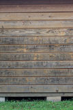 Verwitterte hölzerne Planken Stockbilder