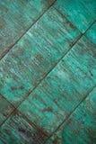 Verwitterte, oxidierte kupferne Wandstruktur Stockfotos