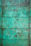 Verwitterte, oxidierte kupferne Wandstruktur Stockbild