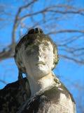 Verwitterte Statue Stockbild
