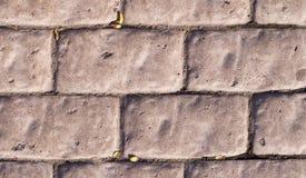 Verwitterte Stein gepflasterte Straße Beschaffenheit Stockfotografie