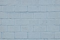 Verwitterte und befleckte farbige blaue Blockwandbeschaffenheit Stockbild