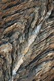 Verwitterter Kalkstein auf der Mittelmeerküste Lizenzfreies Stockfoto