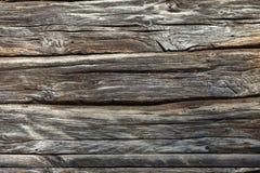 Verwitterter natürlicher hölzerner Beschaffenheitshintergrund - 100 Jahre alt Lizenzfreies Stockfoto