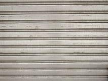 Verwitterter Schmutz mag Metalltor Lizenzfreies Stockfoto