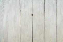 Verwitterter weißer Zaun Background Stockfoto