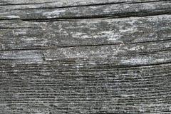 Verwittertes hölzernes Planken-Detail Stockfoto