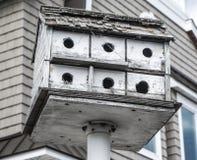 Verwittertes Vogel-Haus in Long Beach -Insel, New-Jersey Lizenzfreies Stockfoto