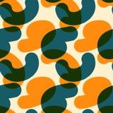 Verwobene Farbe formt nahtloses Muster Lizenzfreies Stockbild