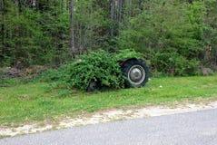 Verworpen Tractor Stock Foto's