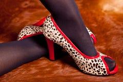 Verworrene Schuhe Stockfotos