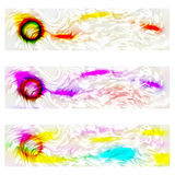 Very abstract banner Royalty Free Stock Image