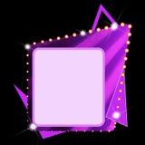 Very abstract text box Royalty Free Stock Photo
