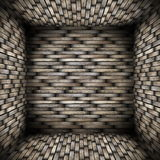 Very abstract wood interior Royalty Free Stock Photo