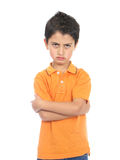 Very Angry Boy Royalty Free Stock Photography