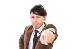 Very Angry Businessman Stock Photos