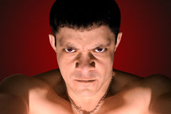 Very angry man Royalty Free Stock Photography