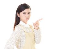 Very Angry woman Royalty Free Stock Image
