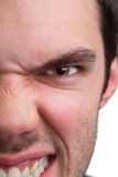 Very angry young man Royalty Free Stock Image