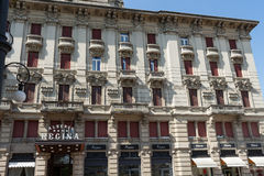 Very antique apartments #2. Salsomaggiore italy Stock Photo