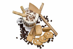 A very appetizing coffee. Royalty Free Stock Images