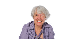 Very attractive Senior lady Stock Photography