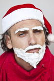 Very bad Santa Claus Stock Photo