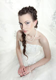 Very beautiful bride Royalty Free Stock Photos