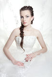 Very beautiful bride Royalty Free Stock Image