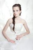 Very beautiful bride Royalty Free Stock Image