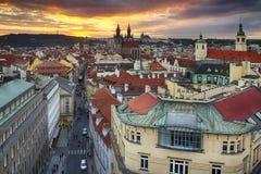 City Pragua in Czech. Very beautiful city in the czech republic Royalty Free Stock Image