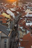 City Pragua in Czech. Very beautiful city in the czech republic Royalty Free Stock Photos