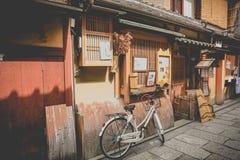 Japanese street,interestingand elegant street.It`s classicl royalty free stock photos