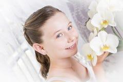 Very beautiful girl Stock Photos