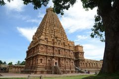 Very beautiful hindu temple Stock Images