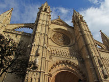 Very beautiful imposing church architecture Royalty Free Stock Image