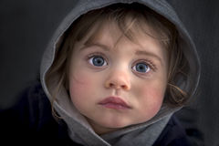 Very beautiful little girl Royalty Free Stock Photo