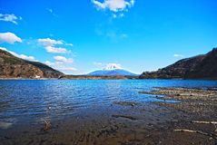 Very Beautiful Mount Fuji hdr Stock Photo
