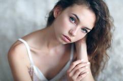 Very beautiful and woman Stock Photos