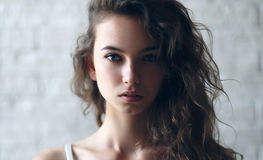 Very beautiful and woman Royalty Free Stock Photos
