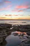 A very beautiful sunset Murrays Beach Jervis Bay Royalty Free Stock Photography