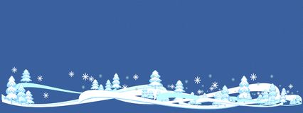 winter backdrop blue textured, winter tree fairy forest & snowflakes. New. vector illustration