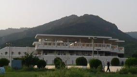 Faisal mosque Islamabad royalty free stock photos