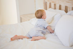Very beautufil cute baby boy royalty free stock image