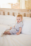 Very beautufil cute baby boy royalty free stock photography