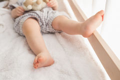 Very beautufil cute baby boy royalty free stock images